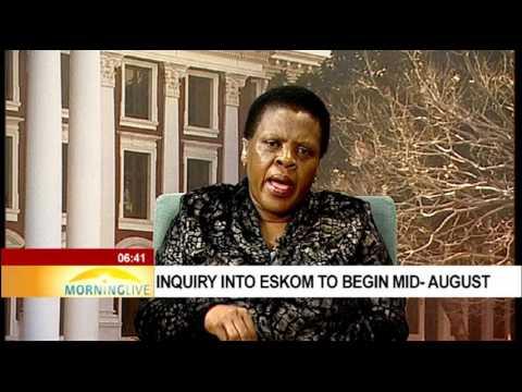 Inquiry into Eskom to begin mid-August