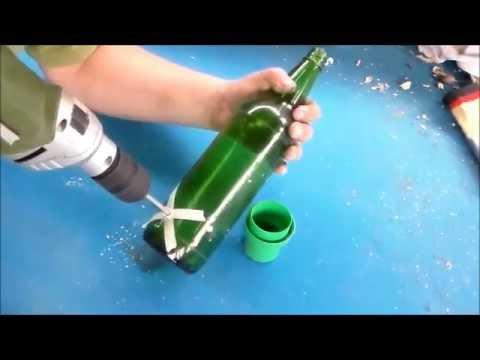 Como Decorar Una Botella De Vidrio Para El Agua