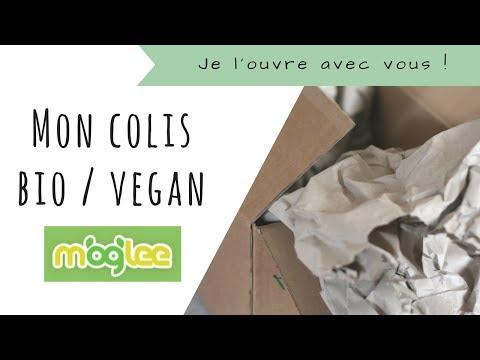 Haul / Unboxing ✭ Moglee (aliments et cosmétiques vegan)