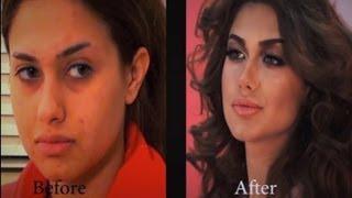 Victoria's Secret Makeover with MAKEUP ، Hanan Alnajadah مكياج حنان النجاده