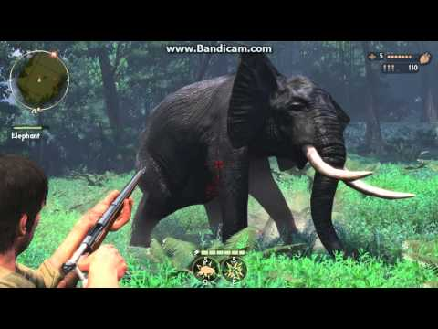 cabelas african adventure elephant hunt in jungle part 2