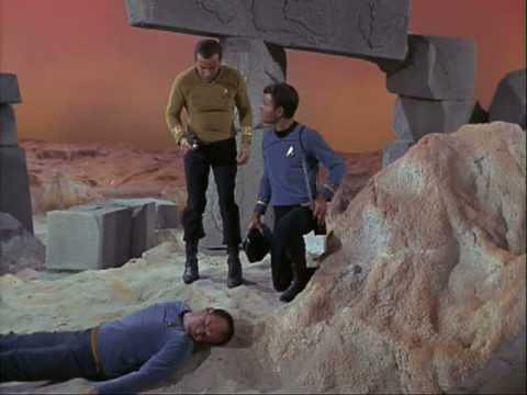 Star Trek - Dead Crew Member on M-113