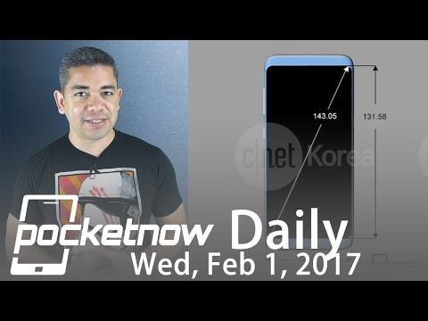 Samsung Galaxy S8 Plus schematics, LG G6 prototype leaks & more - Pocketnow Daily