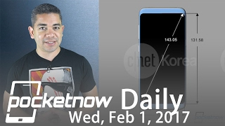 Samsung Galaxy S8 Plus schematics, LG G6 prototype leaks & more - Pocketnow Daily