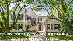 UNIVERSITY PARK HOME TOUR with Rogers