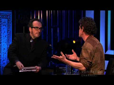Elvis Costello and Lou Reed