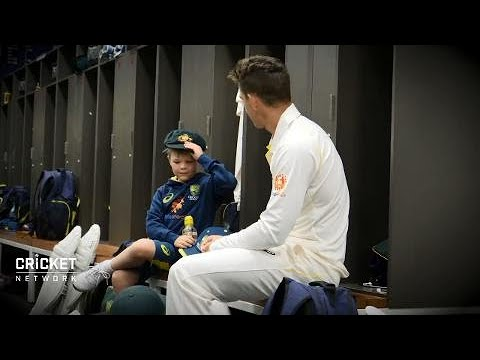 Archie gets to meet his Aussie heroes