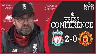 'The fans can dream' | Jurgen Klopp Press Conference | Liverpool 2-0 Man Utd