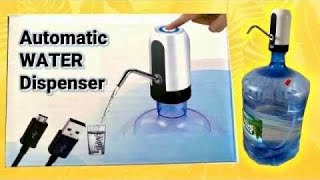 USB Charging Portable Automatic Water Dispenser