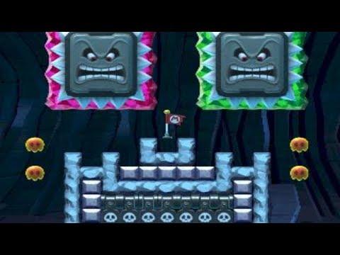 Fun Dash! Cave Explorer! by SR Dan - Super Mario Maker - No Commentary