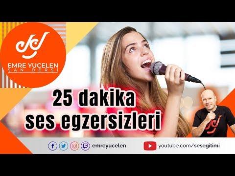 Temel Ses (Şan) Egzersizleri ve Şan Çalışması (25 Dakika)