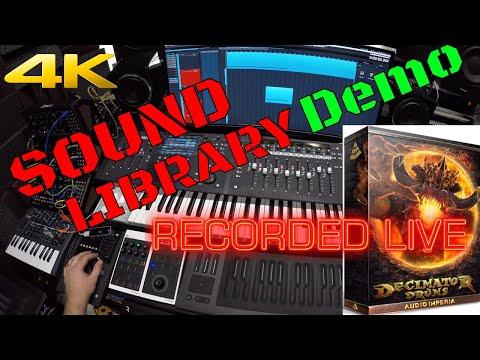 "Audio Imperia Decimator Drums - Mythix demo ""Twenty Grit"" [4k]"