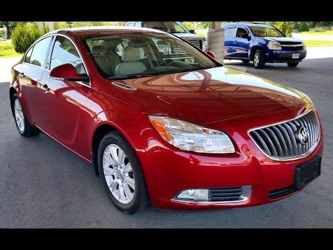 2013 Buick Regal Hybrid Premium Red