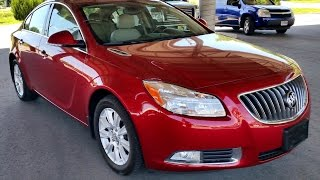 2013 Buick Regal Hybrid Premium Red