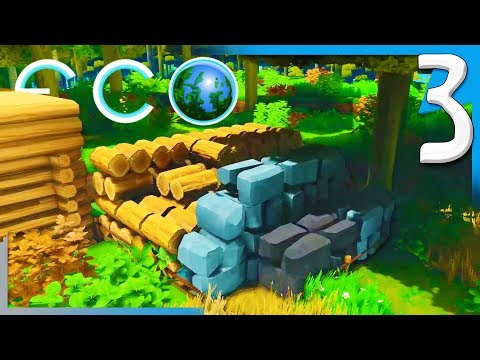 ECO: RESEARCH TABLE & MOVING THE HOMESTEAD! | Eco (BETA 7.1.2) Early Access Gameplay E3
