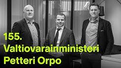 #rahapodi 155 | Vieraana valtiovarainministeri Petteri Orpo