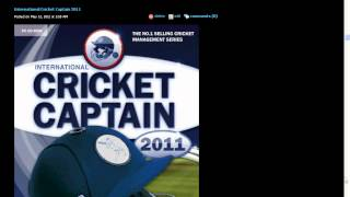 International Cricket Captain 2011 Download