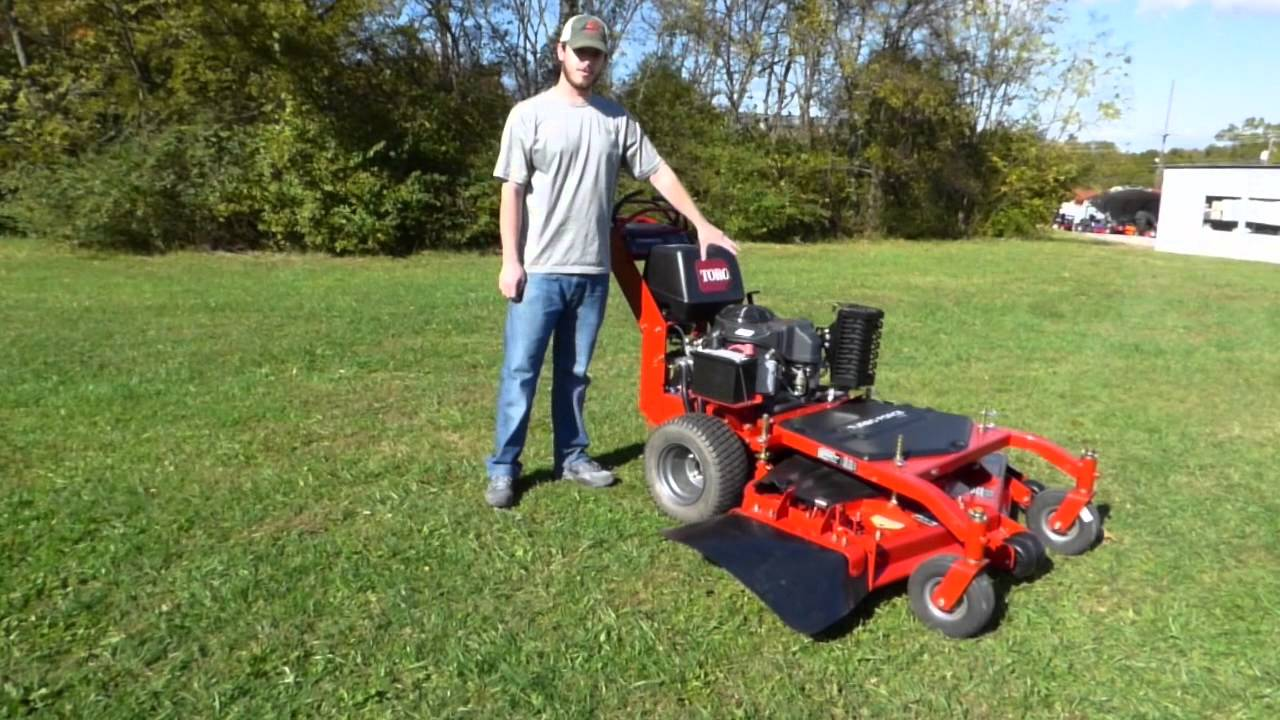 Toro Commercial Mid-Size Floating Deck Walk Behind Mower Review