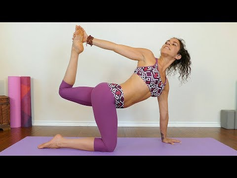 Yoga For Belly Fat With Jess ♥ Abs, Core, Obliques Workout, Beginners Home Routine, Detox, Digestion