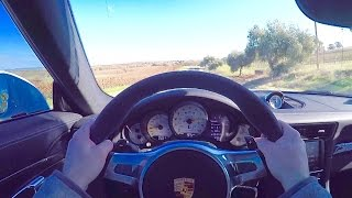 991 Porsche GT3 with IPE F1 INSANE EXHAUST POV Drive!