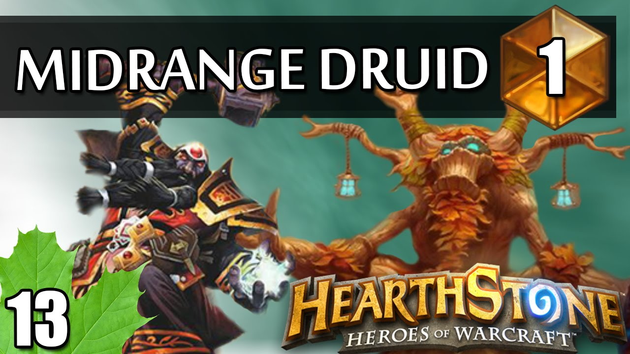 Download Hearthstone StrifeCro Midrange Druid Blackrock Mountain hype! #1