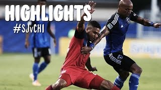 HIGHLIGHTS: San Jose Earthquakes vs Chicago Fire | July 23, 2014