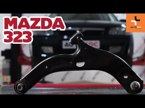 How to replacefront suspension arm onMAZDA 323TUTORIAL | AUTODOC