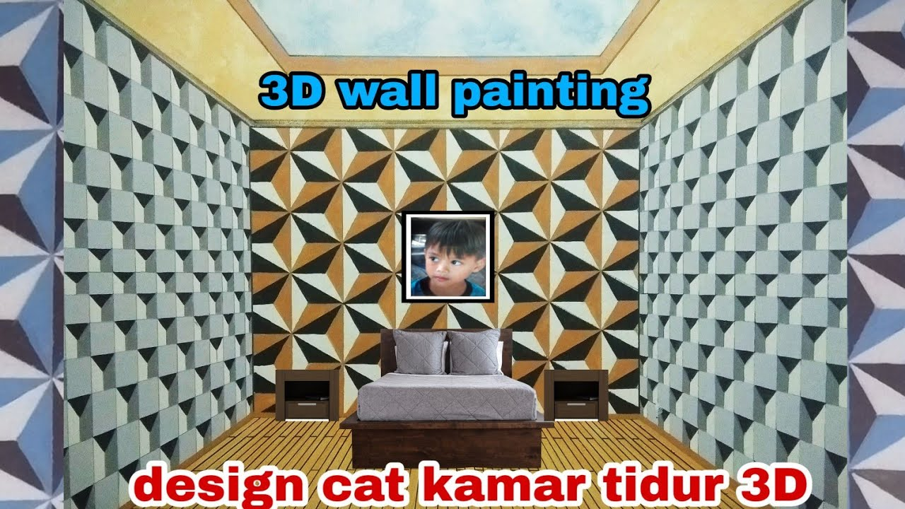 Wall Painting Tutorial Cat Tembok