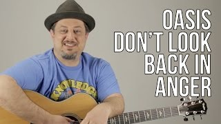 Video How To Play Oasis - Don't Look Back In Anger download MP3, 3GP, MP4, WEBM, AVI, FLV Agustus 2018