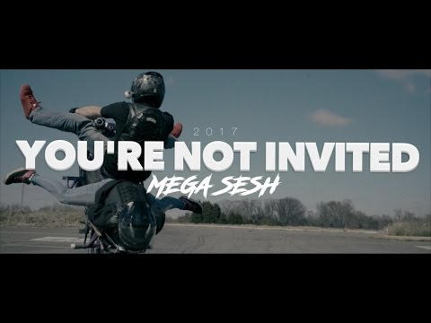 you re not invited stunt session super streetbike