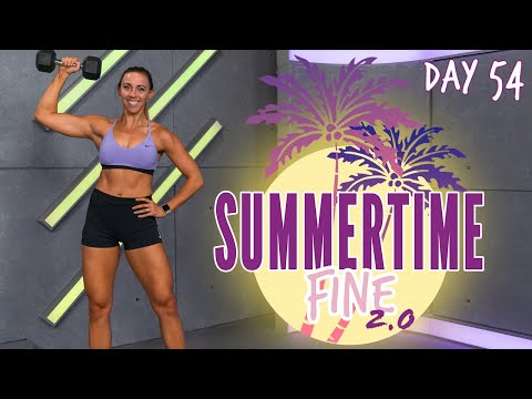 Summer time-Ready Arm-Toning Circuit Workout