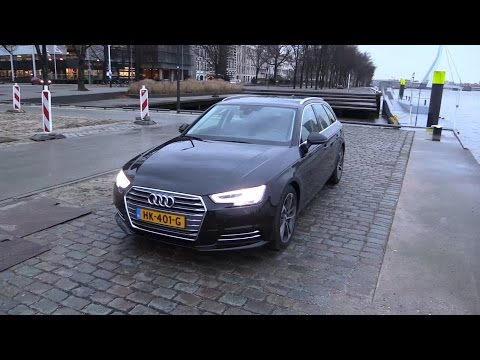 Audi A4 Avant 2017 - Start Up, Drive, In Depth Review Interior Exterior