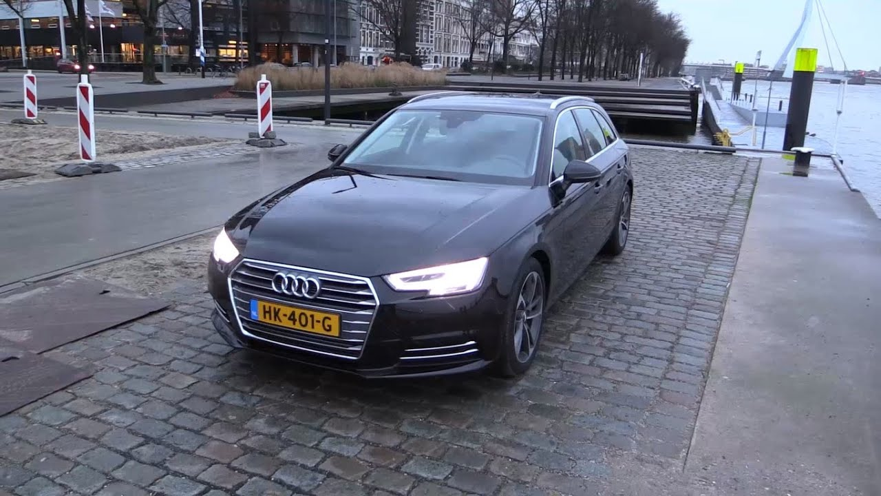 Audi A4 Avant 2017 - Start Up, Drive, In Depth Review Interior Exterior - YouTube
