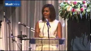 Michelle Obama honors Janelle Monae at Grammy Musem