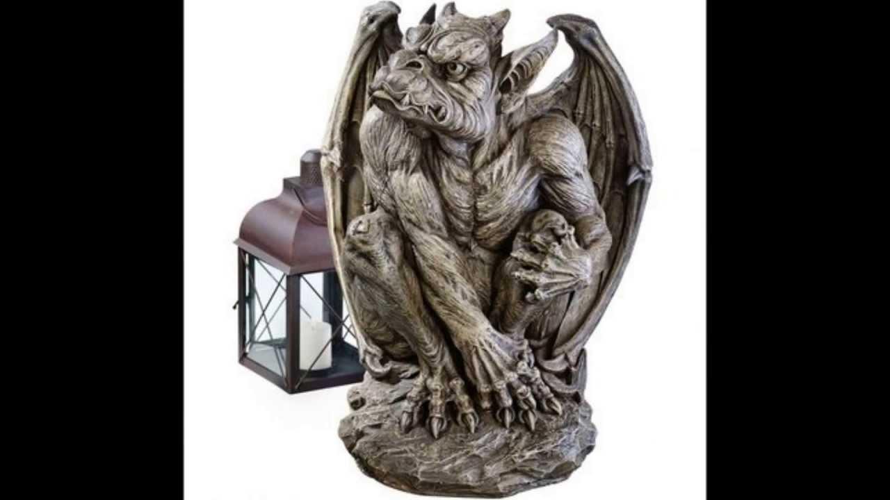 Attractive Gargoyle Garden Statues   YouTube