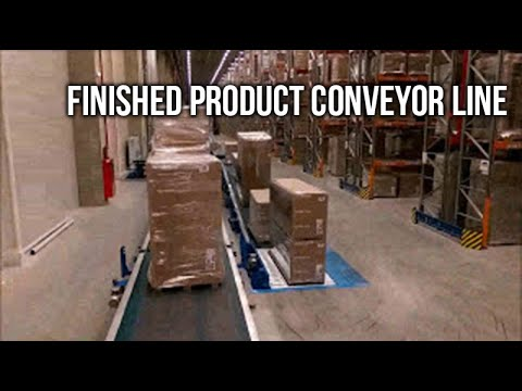 Finished product conveyor line -   Self Trust Romania