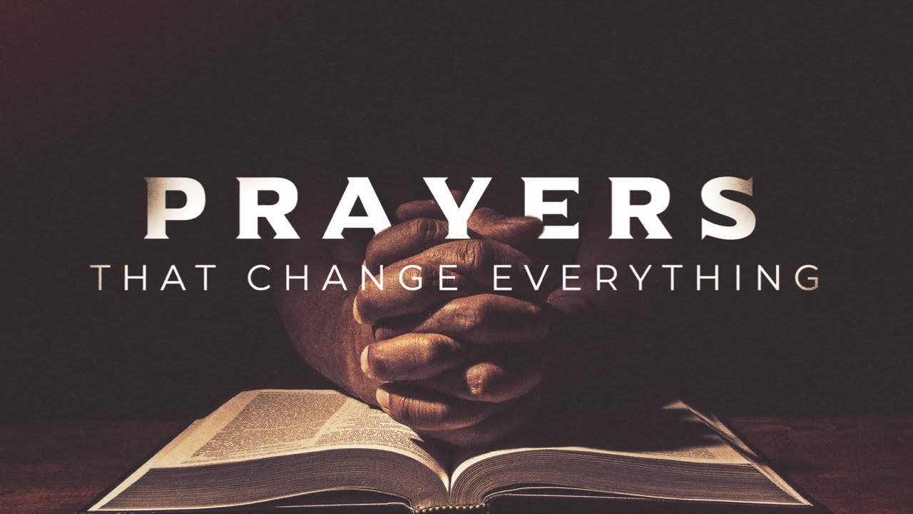 Prayers That Change Everything-Speak To Me-1 Samuel 3:1-18 by Jesse Bills 4/25/2021