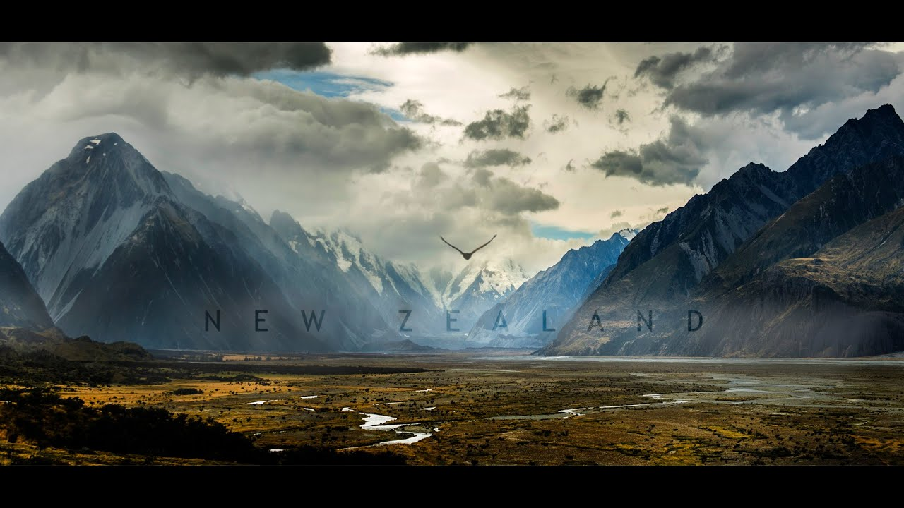 travel new zealand in a minute - aerial drone video