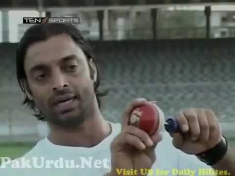 Shoaib Akhtar teaches bowling tips thumbnail