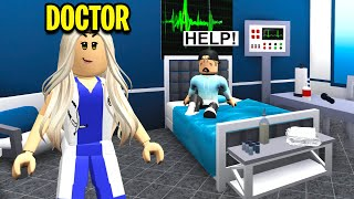 I Became A BLOXBURG DOCTOR.. I Had To Save Lives! (Roblox)