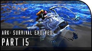 """ARK: Survival Evolved Gameplay Part 15 - """"LEVEL 120 ANGLER, ANGLER TAMING!"""" (SEASON 3)"""