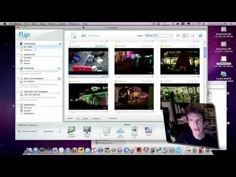 Flip Ulltra HD Test - Video File Transfer / Upload Test