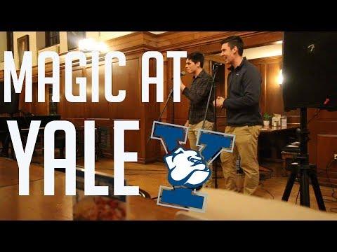 INSANE MIND-READING AND MENTALISM // Magic at Yale