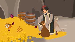Al Bab y los Cuarenta Ladrones cuentos infantiles para dormir  animados