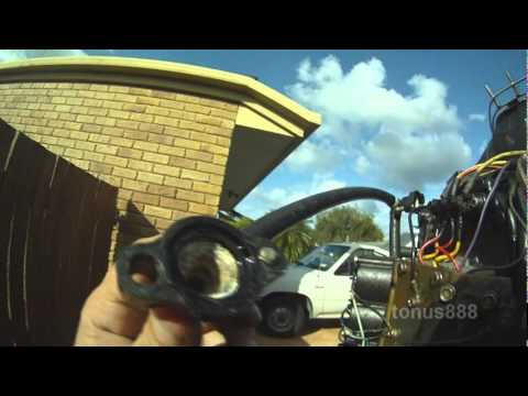 Mercury 175HP - 200HP Outboard No Water Flowing from Cowl outlet and  Startup Test