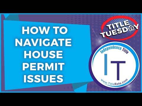 How To Navigate House Permit Issues in Real Estate