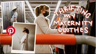 Thrifting my Pinterest Maternity Wardrobe + Try On Haul
