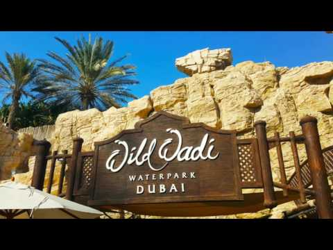 wild wadi dubai video