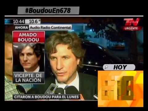 LA CAUSA MEDIATICA EX CICCONE - AHORA EL JUEZ LIJO LLAMO A BOUDOU PARA EL LUNES - 05-06-14