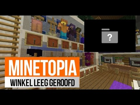 Minetopia #65 WINKEL LEEG GEROOFD EN FACECAM ?!!